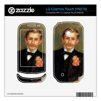 Portrait of Monsier Germaine by Pierre Renoir Skins For LG Cosmos Touch
