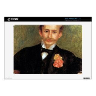 Portrait of Monsier Germaine by Pierre Renoir Acer Chromebook Decal
