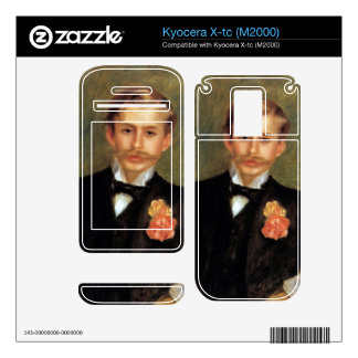 Portrait of Monsier Germaine by Pierre Renoir Decals For Kyocera X-tc