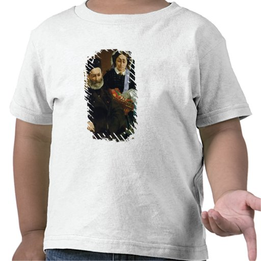 Portrait of Monsieur and Madame Auguste Manet T-shirt