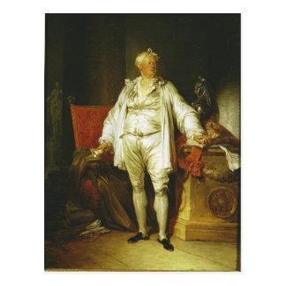 Portrait of Monsieur Bergeret de Grancourt 1715-8 Post Card