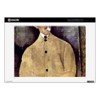 Portrait of Monsieur Lepoutre by Amedeo Modigliani Acer Chromebook Skin