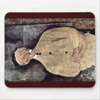 Portrait Of Monsieur Lepoutre By Modigliani Amedeo Mousepad