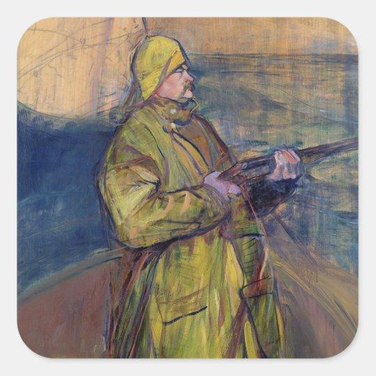 Portrait of Monsieur Maurice Joyant, 1900 Square Sticker