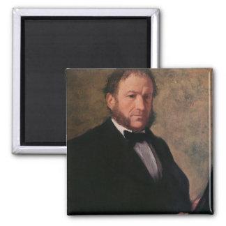 Portrait of Monsieur Ruelle, 1861 Fridge Magnet