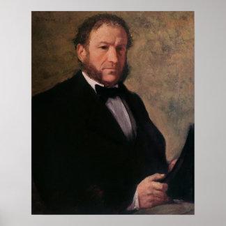 Portrait of Monsieur Ruelle, 1861 Poster