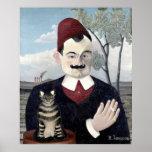 Portrait of Monsieur X, Henri Rousseau Fine Art Poster