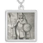 Portrait of Montezuma II Necklace