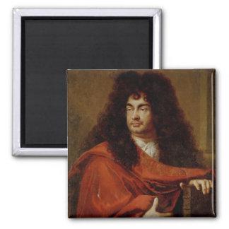 Portrait of Montfleury 2 Inch Square Magnet