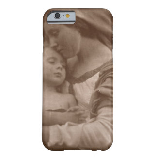Portrait of mother and child (sepia photo) barely there iPhone 6 case