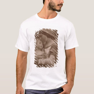Portrait of mother and child (sepia photo) T-Shirt