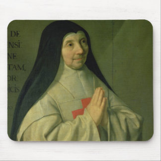 Portrait of Mother Catherine-Agnes Arnauld (1593-1 Mouse Pad