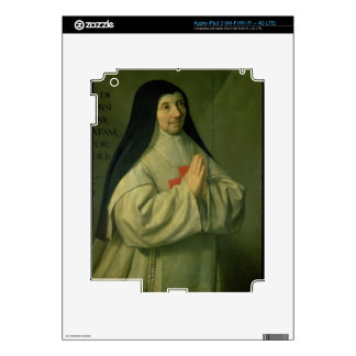 Portrait of Mother Catherine-Agnes Arnauld (1593-1 Decals For iPad 3
