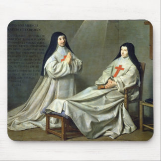 Portrait of Mother Catherine-Agnes Mouse Pad
