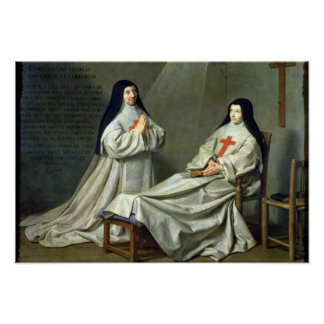 Portrait of Mother Catherine-Agnes Poster