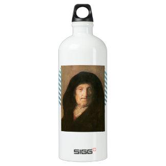 Portrait of Mother of Rembrandt by Rembrandt SIGG Traveler 1.0L Water Bottle