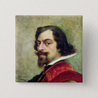 Portrait of Mounet-Sully Pinback Button