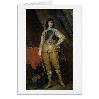 Portrait of Mountjoy Blount, Earl of Newport (c.15 Card