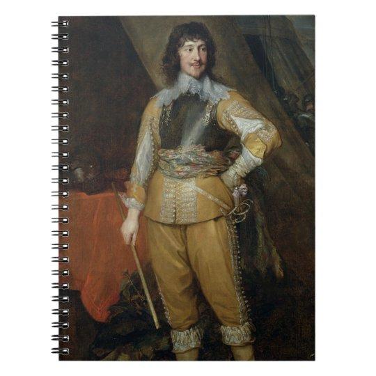 Portrait of Mountjoy Blount, Earl of Newport (c.15 Notebook