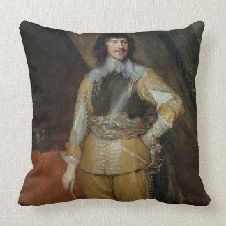 Portrait of Mountjoy Blount, Earl of Newport (c.15 Throw Pillow