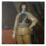 Portrait of Mountjoy Blount, Earl of Newport (c.15 Tile