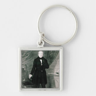 Portrait of Mr. Feargus O'Conner Keychain