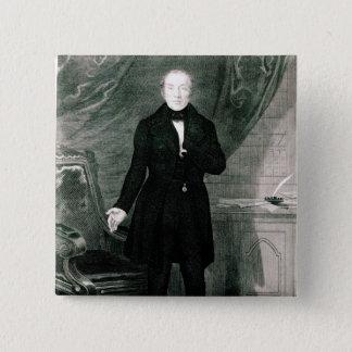 Portrait of Mr. Feargus O'Conner Pinback Button