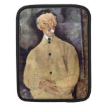Portrait of Mr. Lepoutre by Amedeo Modigliani Sleeve For iPads