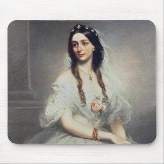 Portrait of Mrs C.W.Stoughton (d.1907), Three-quar Mouse Pad