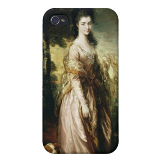 Portrait of Mrs. Lowndes-Stone  c.1775 Case For iPhone 4