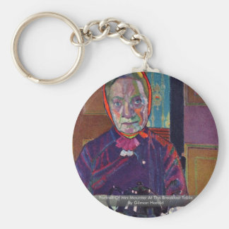 Portrait Of Mrs Mounter At The Breakfast Table Keychains
