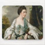 Portrait of Mrs Nicholas Ashton, nee Mary Warburto Mouse Pad