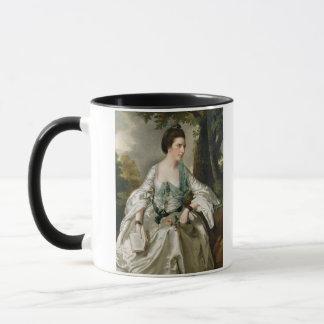 Portrait of Mrs Nicholas Ashton, nee Mary Warburto Mug