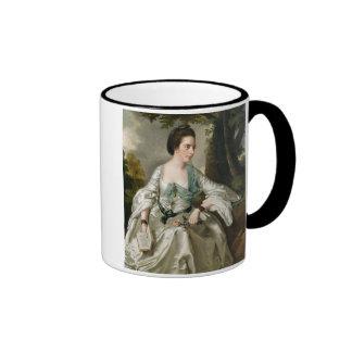 Portrait of Mrs Nicholas Ashton, nee Mary Warburto Coffee Mugs