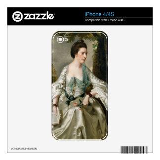 Portrait of Mrs Nicholas Ashton, nee Mary Warburto Skin For The iPhone 4S