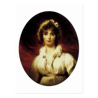 Portrait of Mrs Robert Burne-Jones Post Cards