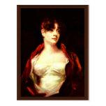 Portrait Of Mrs. Robert Scott Moncrieff By Raeburn Post Cards
