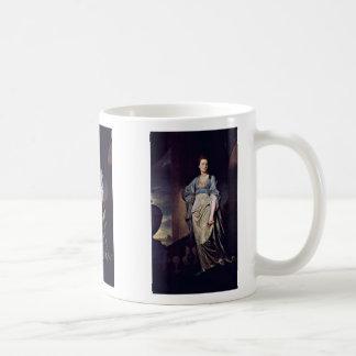 Portrait Of Mrs. Verelst By Romney George Coffee Mug