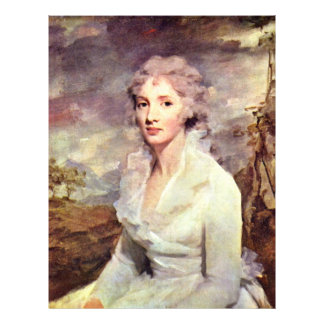 Portrait Of Ms. Eleanor Urquhart By Raeburn Flyers