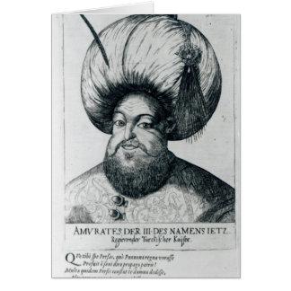 Portrait of Murad III Card