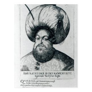 Portrait of Murad III Postcard