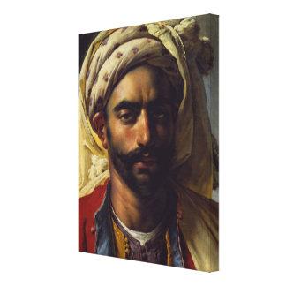 Portrait of Mustapha Canvas Prints