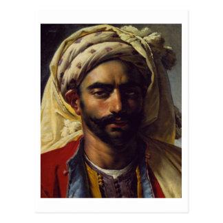 Portrait of Mustapha Postcard