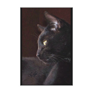 Portrait of My Boy, Charlie Canvas Print
