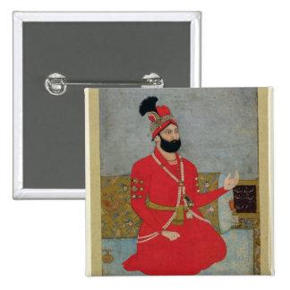 Portrait of Nadir Shah Afshar of Persia (1688-1747 Pinback Button