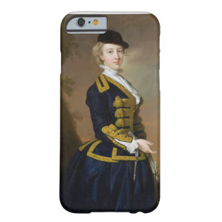 Portrait of Nancy Fortesque wearing a dark blue ri Barely There iPhone 6 Case