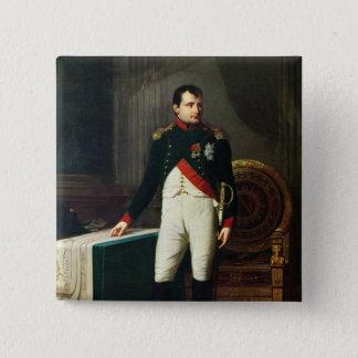 Portrait of Napoleon Bonaparte  1809 Button