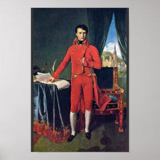 Portrait Of Napoleon Bonaparte As First Consul,  B Poster