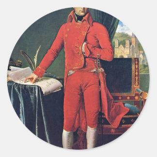 Portrait Of Napoleon Bonaparte As First Consul,  B Sticker