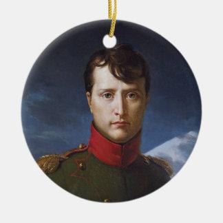Portrait of Napoleon Bonaparte First Consul Ceramic Ornament